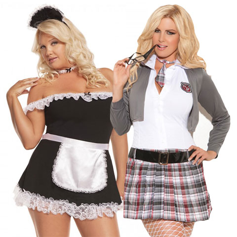 stripper costumes plus size
